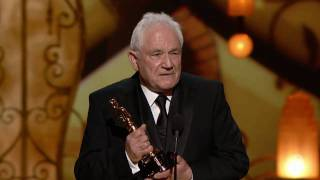 "David Seidler winning Best Original Screenplay for ""The King"