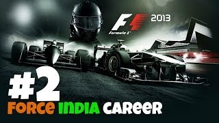 F1 2013 Career - Part 2 [Force India]