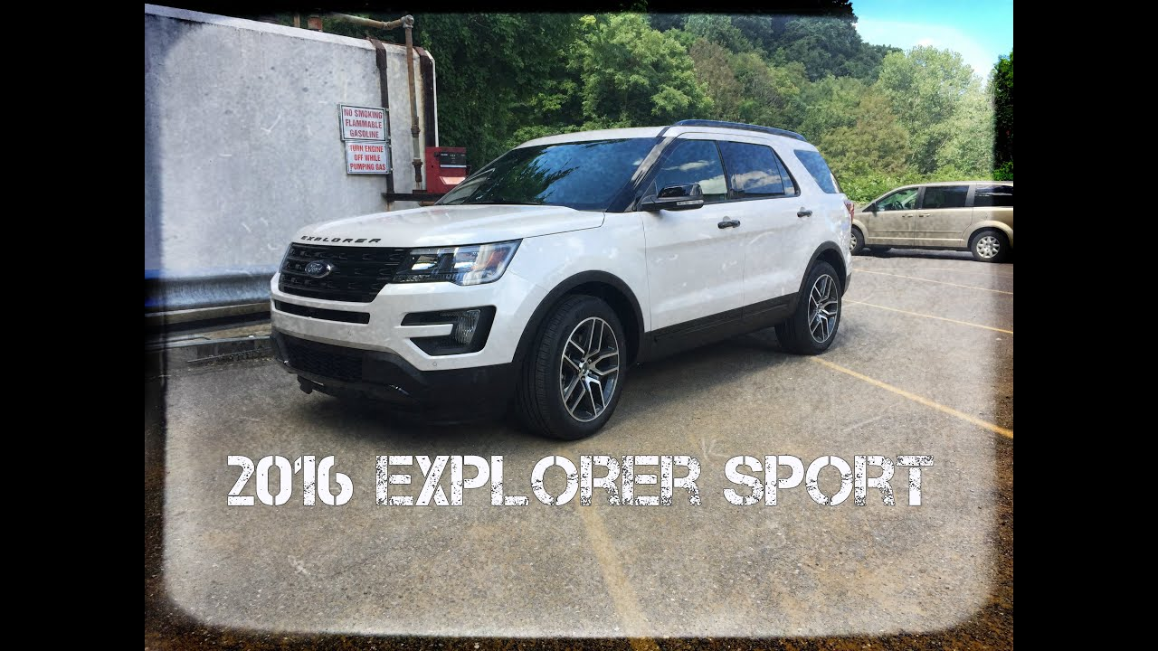 2016 ford explorer sport review 3 5l ecoboost twin turbo test drive and in depth look youtube