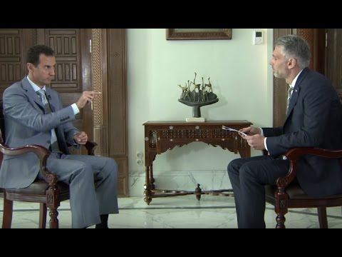 Assad slams western journalism and White Helmets propaganda