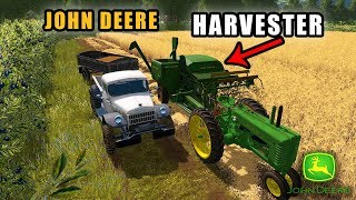 GRANDPA'S FIRST HARVEST | Farming Simulator 2017