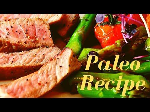 ★★★★★ Paleo Dinner Recipe - Healthy,  Quick, Easy Skillet Tri Tip Steak