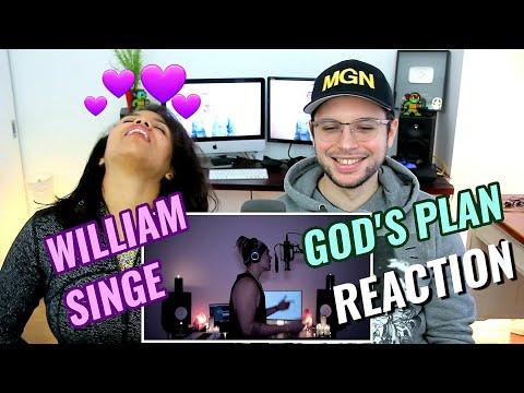 William Singe - God's Plan | Drake | REACTION