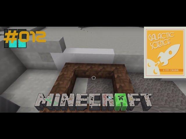 Let's Play Minecraft Galactic Science   Der Versuch einer Baumfarm   Folge #012