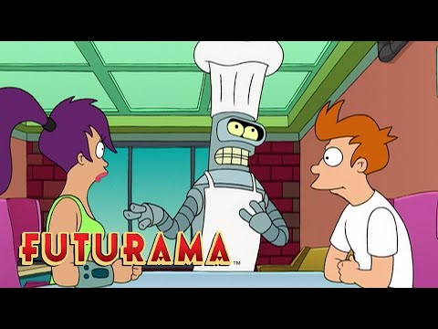 FUTURAMA | Season 1, Episode 7: What's Cooking? | SYFY