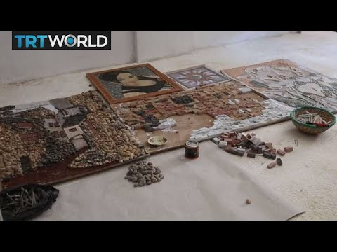 Piecing History Together: Syrian mosaic artist passing on historic craft