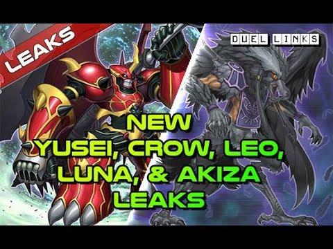Yu-Gi-Oh! Duel Links | New 5D's Leaks! Yusei, Crow, Leo, Luna, & Akiza -  Cyber Dragon Coming Soon!