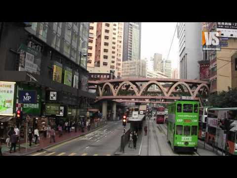 Hong Kong Tram Eastbound 100 minutes Full Ride (2011)