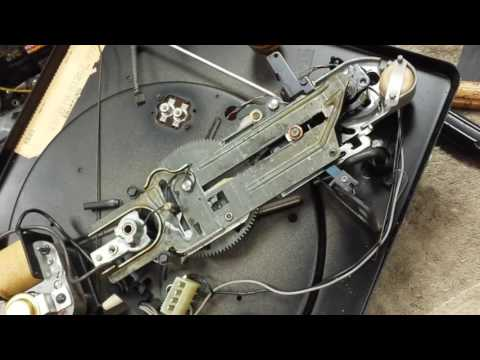 Basic Service of early 60s VM record changer Part 1/2