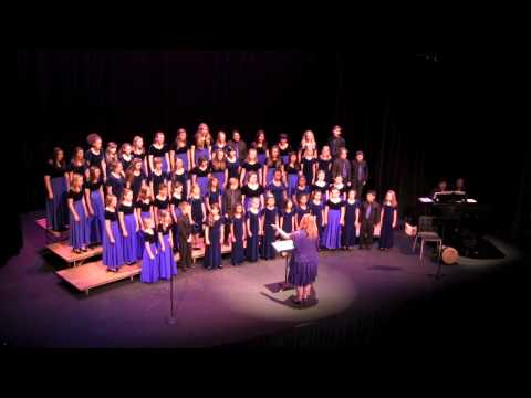"""SFV Youth Chorus with Expressions Choirs, """"May Joyful Music Fill the Air"""" arr, by Russen Robinson"""