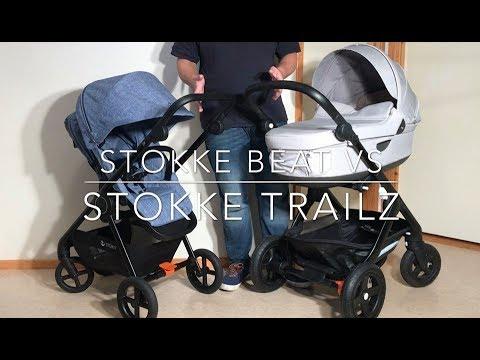 Stokke Beat VS Stokke Trailz