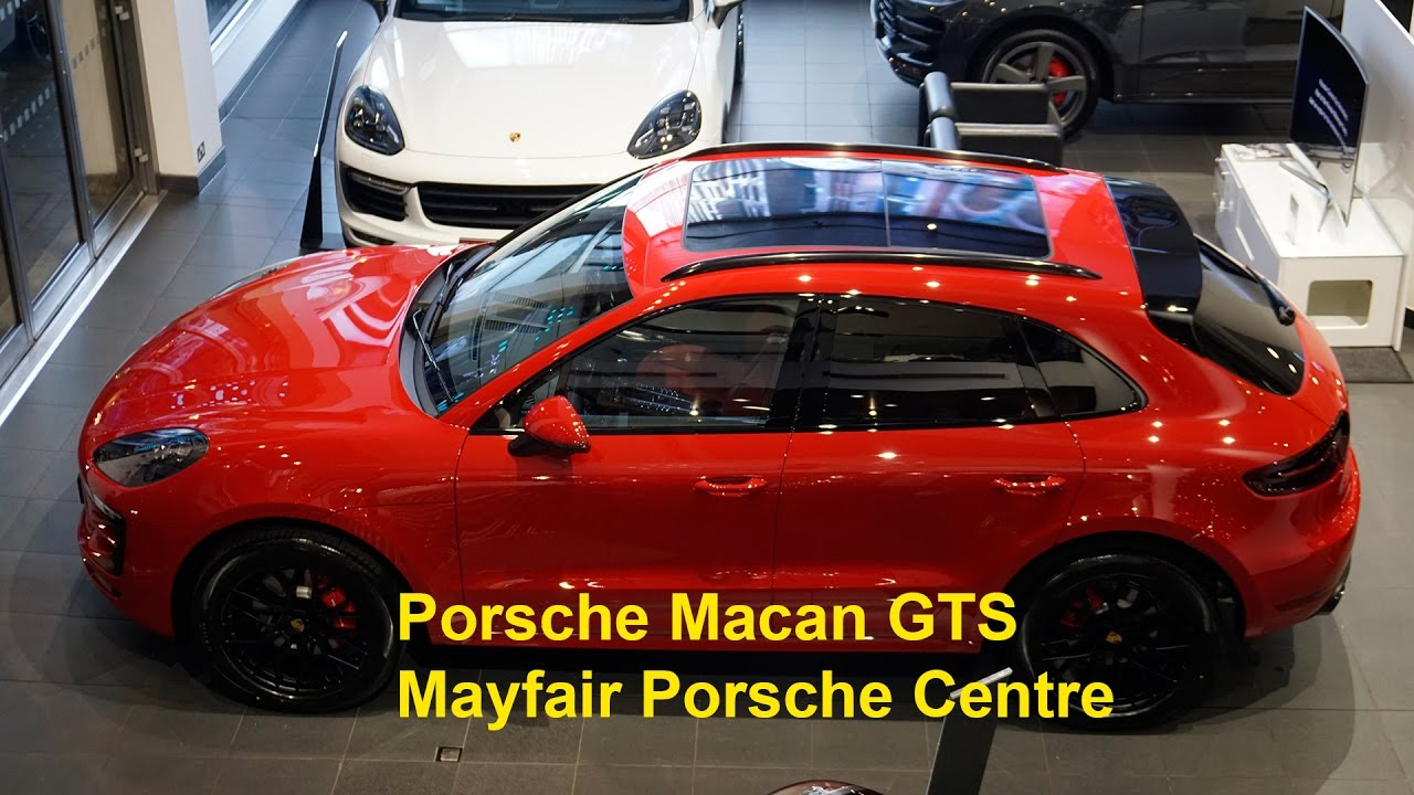 Collecting our new Macan GTS from Porsche Mayfair