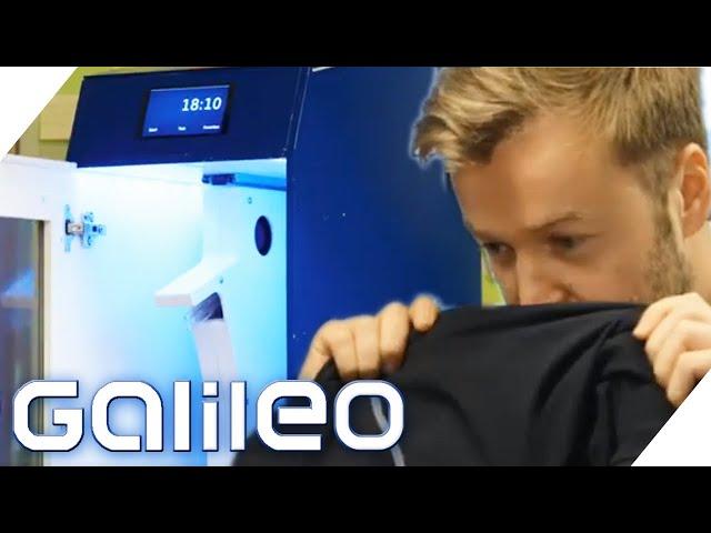 Waschmaschine ohne Wasser: Wie geht das? | Galileo | ProSieben