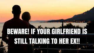 Wife talking to ex boyfriend