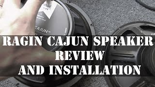 Ragin Cajun Speaker Review and Installation In Fender 25R Amp
