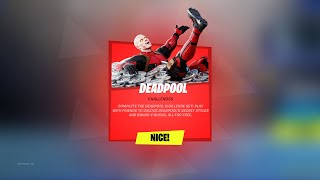 Fortnite Deadpool Event is HERE!