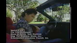 """""""Buckle Up"""" 1980s Seatbelt Commercial"""