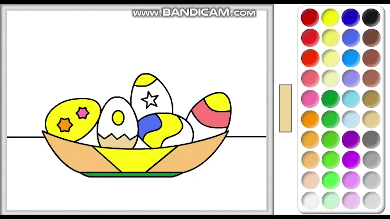 Yumurta Boyama Oyunu Youtube