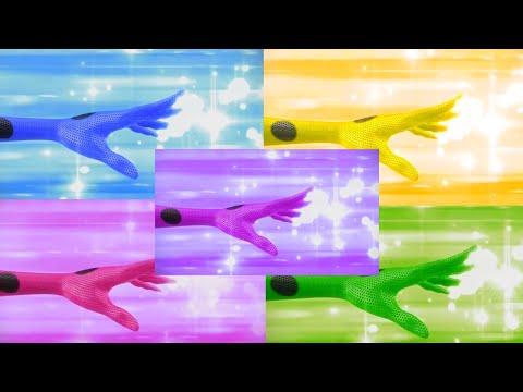 Miraculous: Превращения Леди Баг в разных цветах