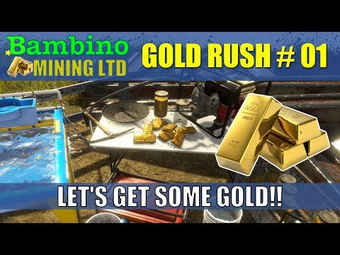 Gold Rush The Game - Game Play #1 Let's Get Some GOLD!