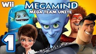 Megamind Mega Team Unite Walkthrough Part 1 (Wii)