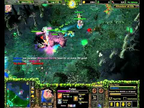 DotA Allstars Video Pudgeavi YouTube