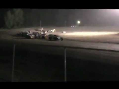 Joe Rokos #77 Owendale Speedway Modified Feature Race 6-30-12