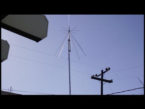 Ham Radio Discone Antenna