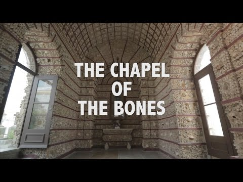 The Chapel of the Bones in Faro - Algarve Portugal