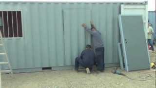 Weld-N-Go Man Door Install