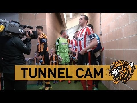 Hull City v Sunderland | Tunnel Cam