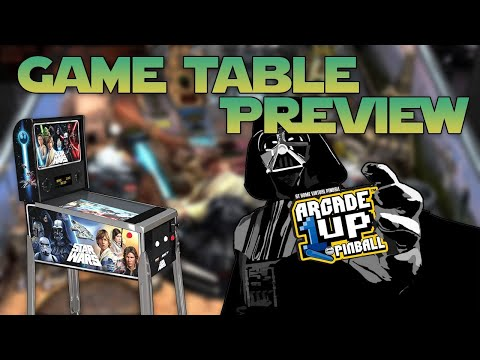 Arcade1Up Star Wars Pinball Game Table Preview from COOLTOY