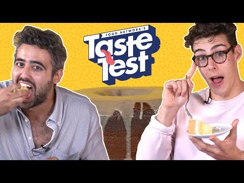 We Tried British Baked Goods 🇬🇧 TASTE TEST!