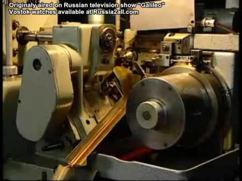 Building A Vostok Wristwatch - English Subtitle Version