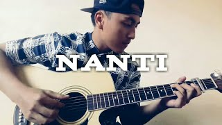 Video Fredy - Nanti (Fingerstyle Guitar Cover) download MP3, 3GP, MP4, WEBM, AVI, FLV April 2018