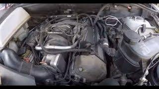 бмв Х5 е53: двигатель троит и трясется, не заводится. Решение проблемы