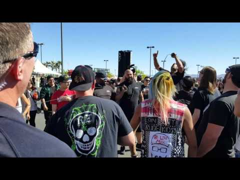 Death by stereo Live at the extreme thing in Las Vegas