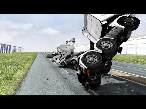 Vehicle vs Vehicle - Monster Trucks - Euro Truck Simulator 2 Mode - Ets 2 mods |