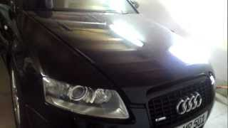 Xenon Birne wechseln Audi A6 Avant 2,7 TDI ( 4f ) Left / Links Light Installation  HD-Video