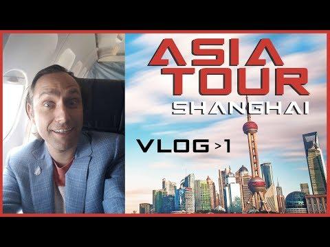 VLOG 1 - Yves La Rose to land in Shanghai - Asia Tour!