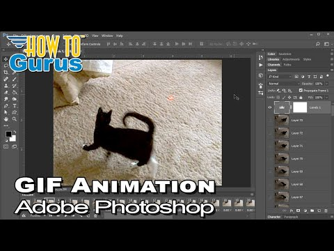 How To Photoshop Gif Animation From Video Tutorial: Creating A Gif In CC 2019 CS6 CS5