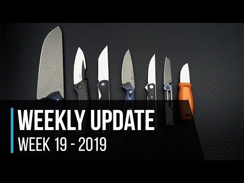Weekly Update 19 - 2019: TOPS Knives Dicer Line, ZT 0850CF Sprint, Fenix Lights And More!