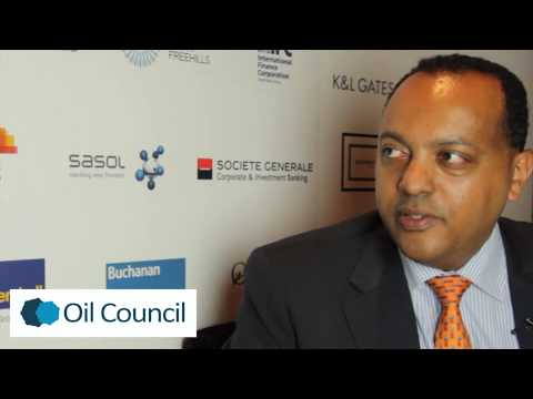 Tewodros Ashenafi, South West Energy interview at the 2013 Africa Oil and Gas Assembly