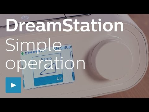 DreamStation simple device operation