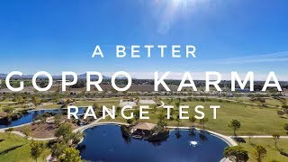 GoPRO KARMA Drone: BETTER RANGE TEST (3000ft)