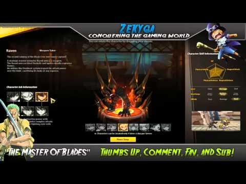 Elsword Online  - Character Creation Screen