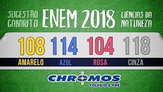 Gabarito ENEM 2018 CHROMOS - Prova Amarela: Questão 108 | Química