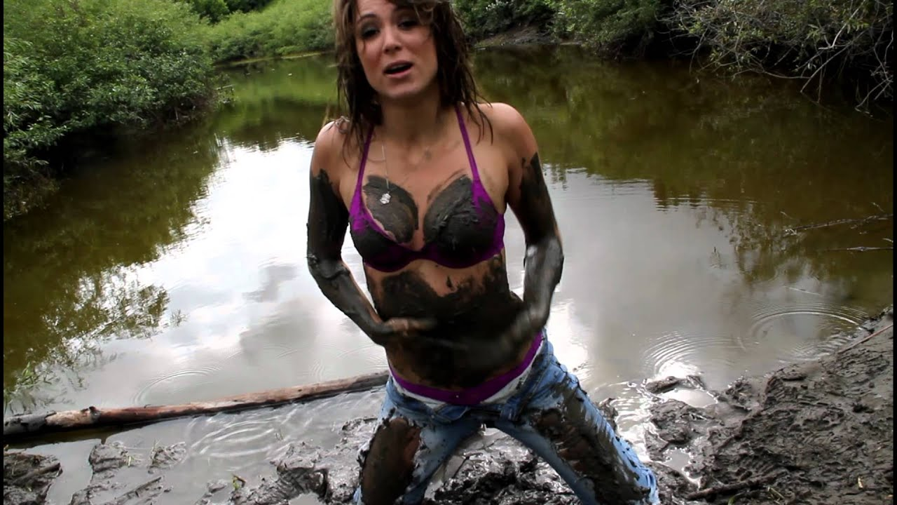 Taryn Maria Plays in the Mud  YouTube