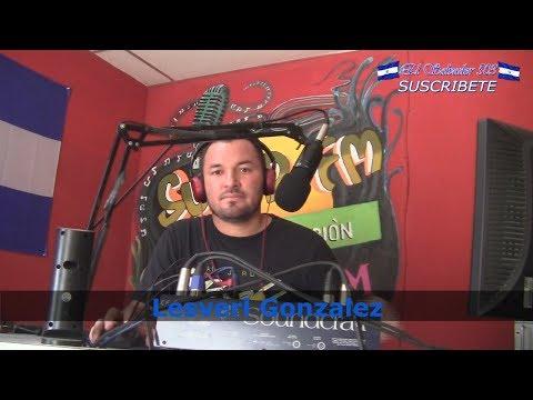 Lesverl Gonzalez desde Cabina de Radio Super Fm  - El Salvador 503