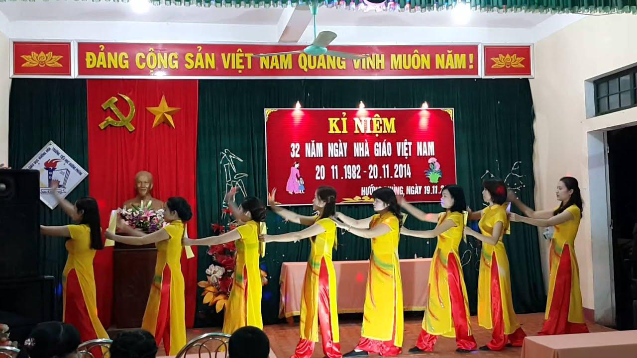 Trường Tiểu học Hướng Phùng – Tự hào Nhà giáo Việt Nam.